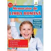 Memorator de Limba Romana, clasele V-VIII. Suport pentru invatarea lectiilor/***