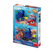 PUZZLE 2 IN 1 - IN CAUTAREA LUI DORY (66 PIESE) - DINO TOYS (385184)
