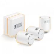 Netatmo Slimme thermostaat en 3 slimme radiatorknoppen
