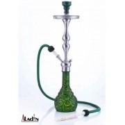 Aladin Istanbul 77 cm vízipipa — zöld-sárga