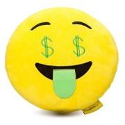 Perna decorativa Emoji dolar Happy Face