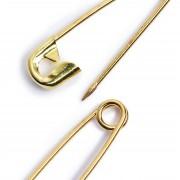 PRYM biztositótűk, 3 méret, arany, 071165