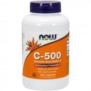 Now Foods C-500 Calcium Ascorbate-C (250cps)