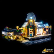 LIGHT MY BRICKS Kit for 10259 Winter Village Station