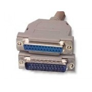 Cablu paralel prelungitor 10m D-SUB 25pini mama - tata