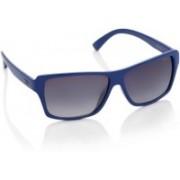Opium Rectangular Sunglasses(Grey)