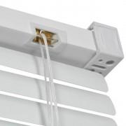 jaluzele orizontale pvc/alb 30 cm x 120 cm