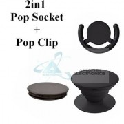Frappel2in1 YELLOW Universal Pop Socket + Pop Clip Holder Grip Mount for Mobile