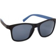 Polaroid Wayfarer Sunglasses(Grey, Blue)