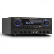 Auna Amp-2 HiFi-Karaoke-Verstärker 100W max. USB SD MP3