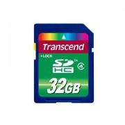 Transcend Scheda di memoria SDHC Transcend TS32G4 32Gb Classe 4
