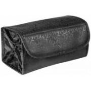 shreemax Roll N Go Cosmetic Bag Travel Toiletry Kit(Black)