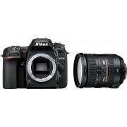 Nikon »D7500+AF-S DX 18-200 VR« Spiegelreflexkamera (AF-S DX NIKKOR 18–200 mm 1:3,5–5,6G ED VR II, 20,9 MP, WLAN (Wi-Fi), Bluetooth)