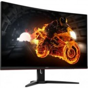 Монитор AOC 31.5 VA Curved 1800R;WLED;1920x1080@144Hz;178/178;1 ms;250;FreeSync;FlickerFree;Black/Red;Vesa 100x100;D-SUB;HDMI;Di