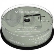 CD-R MediaRange Digital Audio 80min./700mb 40X - 25 броя в шпиндел