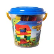 Peacock Toys Kinder Blocks Elephant Set (Bucket)