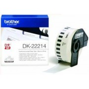 Brother DK-22214 (Noir/Blanc) - ORIGINALE