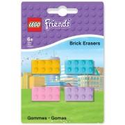 Lego Friends - Mini-Erasers 4-Pack