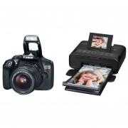 Cámara Canon Eos Rebel T6 18 Megapixeles Con Impresora Selphy Cp1300