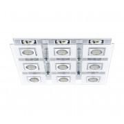 Eglo 92877 - LED Plafoniera CABO 9xGU10/3W/230V