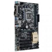 Дънна платка Asus H110-PLUS, H110, LGA1151, DDR4, PCI-E(DVI&D-Sub), 4x SATA 6Gb/s, 2x USB 3.0, ATX