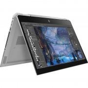 Laptop HP ZBook Studio x360 G5 15.6 inch FHD Touch Intel Core i7-8750H 8GB DDR4 256GB SSD Windows 10 Pro Silver