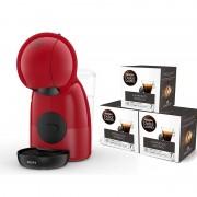 Krups Pack Krups Nescafé Dolce Gusto Piccolo XS Vermelha + 3 Packs de Café Expresso Intenso
