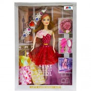 GRAPPLE DEALS Fashion Girl Princess Doll With Trendy Dresses And Accessories For Girls