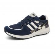 Malla Transpirable Zapatos De Los Deportes Calzado Deportivo Forrest Gump Zapatos Para Correr- Azul