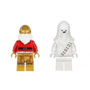 LEGO Lego C-3PO Santa and Snow Chewbacca Minifigures Lego Star Wars Holiday
