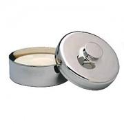 Becker Metall-Seifenschale mit Seife 1 Stück