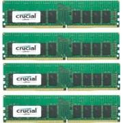 Kit Memorie Server Crucial ECC RDIMM 4x16GB DDR4 2400MHz CL17 Single Rank x4 Quad Channel