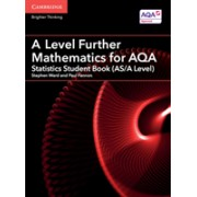 A Level Further Mathematics for AQA Statistics Student Book (AS/A Level) (Ward Stephen)(Paperback) (9781316644508)