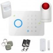 Kit alarme sans fil Gsm T2 + Sirène