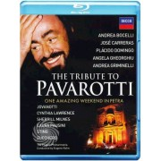Video Delta Luciano Pavarotti - The tribute to Pavarotti - One amazing weekend in Petra - Blu-Ray