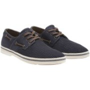 ALDO DALENI Sneakers For Men(Navy)