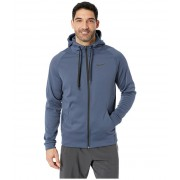 Nike Dri-FIT Therma Men's Full-Zip Training Hoodie Thunder BlueBlack