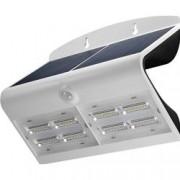 Goobay Lampada LED Solare a Muro 6,8W IP65 Sensore di Movimento Bianco
