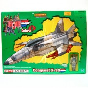 GI JOE vs. COBRA SPY TROOPS Conquest X-30 Jet with Slip Stream Action Figure