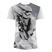 SD TOYS T-Shirt Sw Ep7 Stormtrp Snow Full P W Kids Taglia L T-Shirt