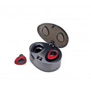 EY Mini Wireless Bluetooth Estéreo Auriculares Intrauditivos Con Caja De Carga TWS-k2HD-Rojo