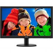 Monitor Philips 243V5LHAB/00 23.6 inch 5ms LED Black
