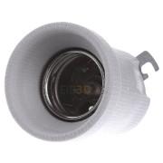 108375 - Fassung E40 Porz,ws,LP-Sich.,M5 108375