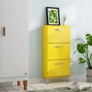 Tenzo Schuhschrank Malibu für 6 Paar Schuhe Tenzo Farbe: Gelb