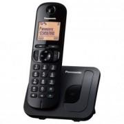Panasonic Teléfono inalámbrico digital Panasonic KX-TGC210 Negro
