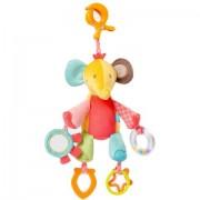 Centru de activitati pentru bebelusi - Elefantel cu diferite forme geometrice si inel dentitie