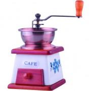 Rasnita manuala KingHoff KH-4147 pentru cafea, elemente din lemn si ceramica