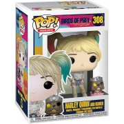 Funko POP Heroes Birds of Prey - Harley Quinn with Beaver