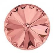 Swarovski crystals Rivoli - Blush Rose Foiled 14mm, 1 styck