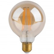BES LED LED Lamp - Facto - Filament Rustiek Globe - E27 Fitting - 5W - Warm Wit 2700K